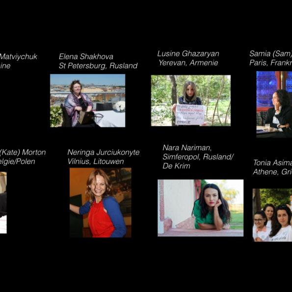 8 vrouwenportretten